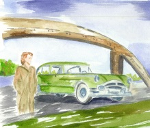 Mama and the Packard - sold