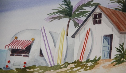 Airstream, Hang Ten, SOLD
